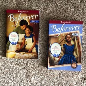 2 American Girl Beforever Addy books